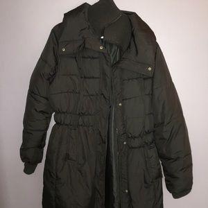 Old Navy Black puffer jacket